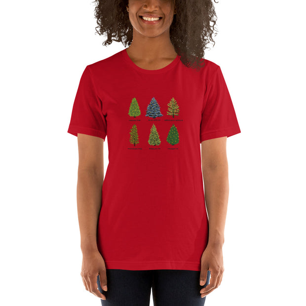 Spruce-Fir-Pine Short-Sleeve Unisex T-Shirt