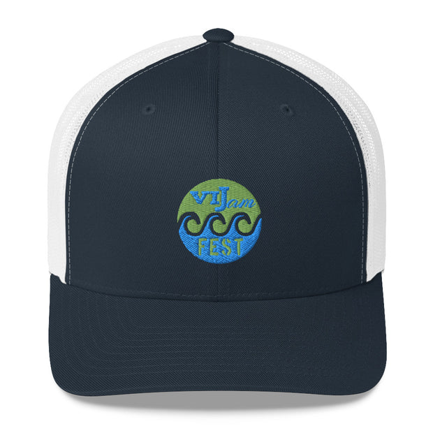 Cruz Bay Music Jam Fest Trucker Cap