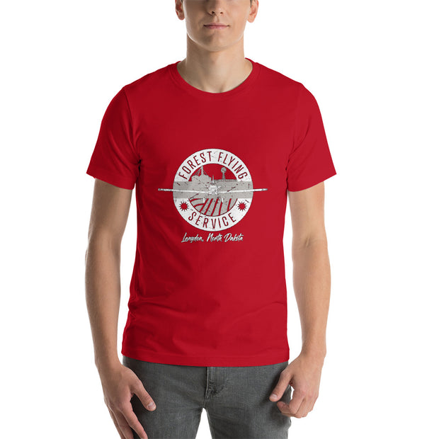Forest Flying Service Cotton Unisex T-Shirt