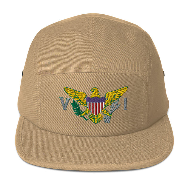 Virgin Islands Flag Five Panel Cap