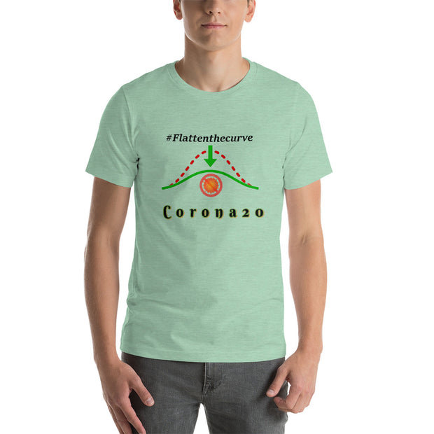 Corona20 Flatten the curve Cotton T-shirt