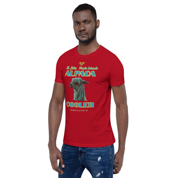 Alpaca Cooler Cotton T-shirt