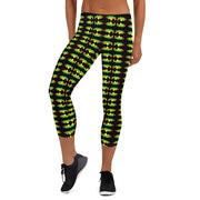 Hoodwink Badge Capri Leggings