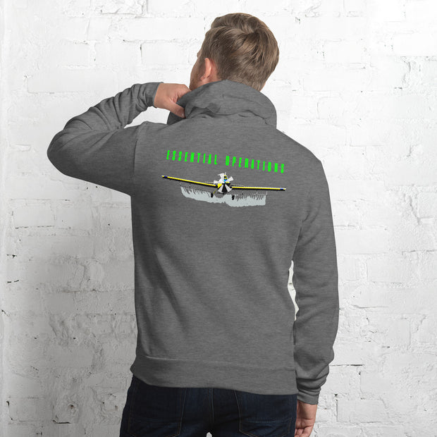 Essential Operations Aerial Application Unisex hoodie