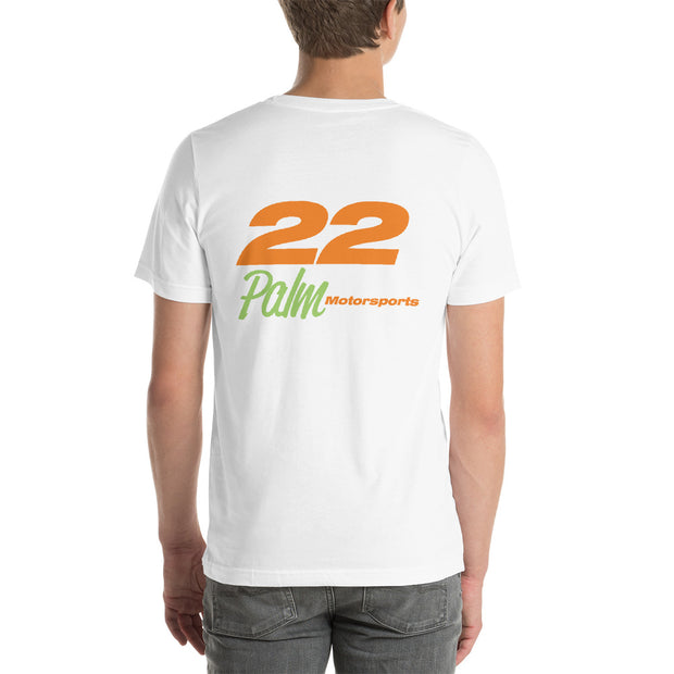 Palm Motorsports #22 Short-Sleeve Unisex T-Shirt