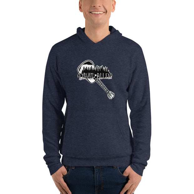 David Allen Music Light Hoodie