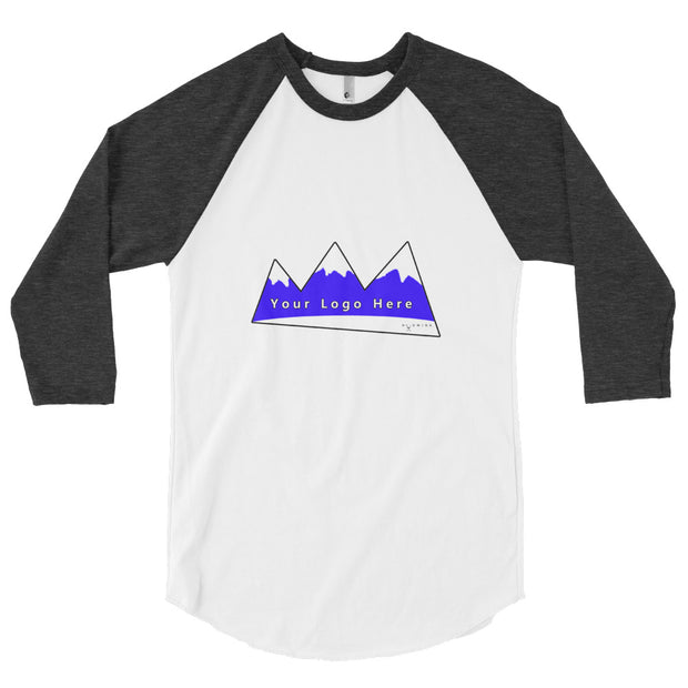ADDITIONAL MOCKUP -- 3/4 sleeve raglan shirt