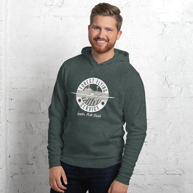 Forest Flying Service Soft Unisex hoodie
