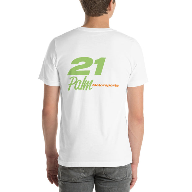 Palm Motorsports #21 Short-Sleeve Unisex T-Shirt