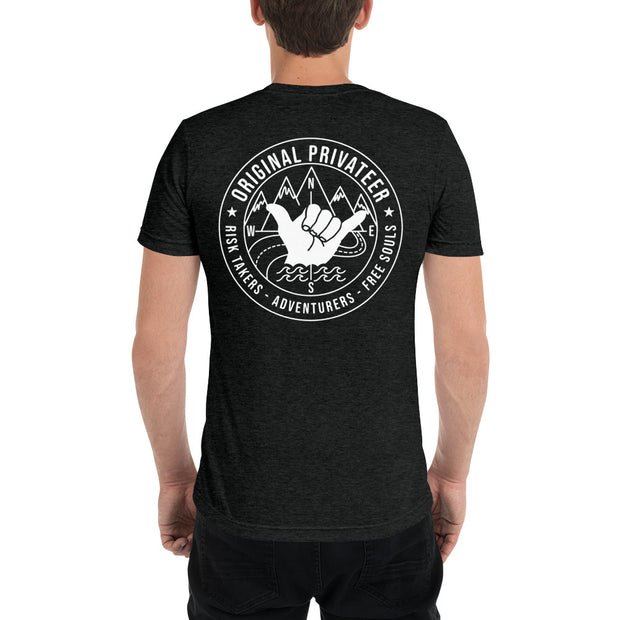 Original Privateer Unisex Tri-Blend T-Shirt