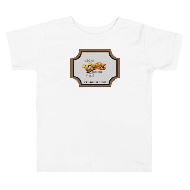 420 To Center Toddler Short Sleeve Tee