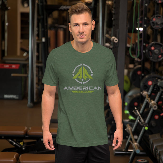 Amberican Armor Short-Sleeve Unisex T-Shirt