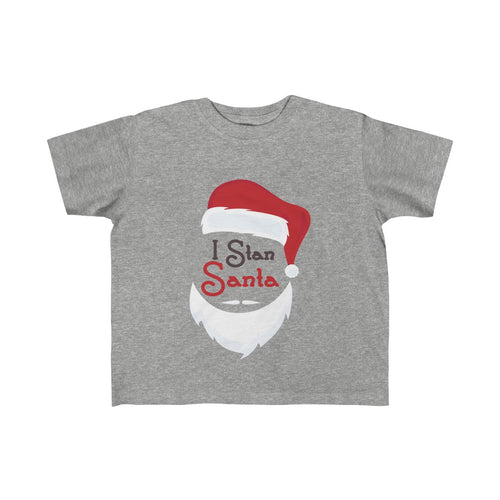 I Stan Santa Head: Kid's Jersey Tee