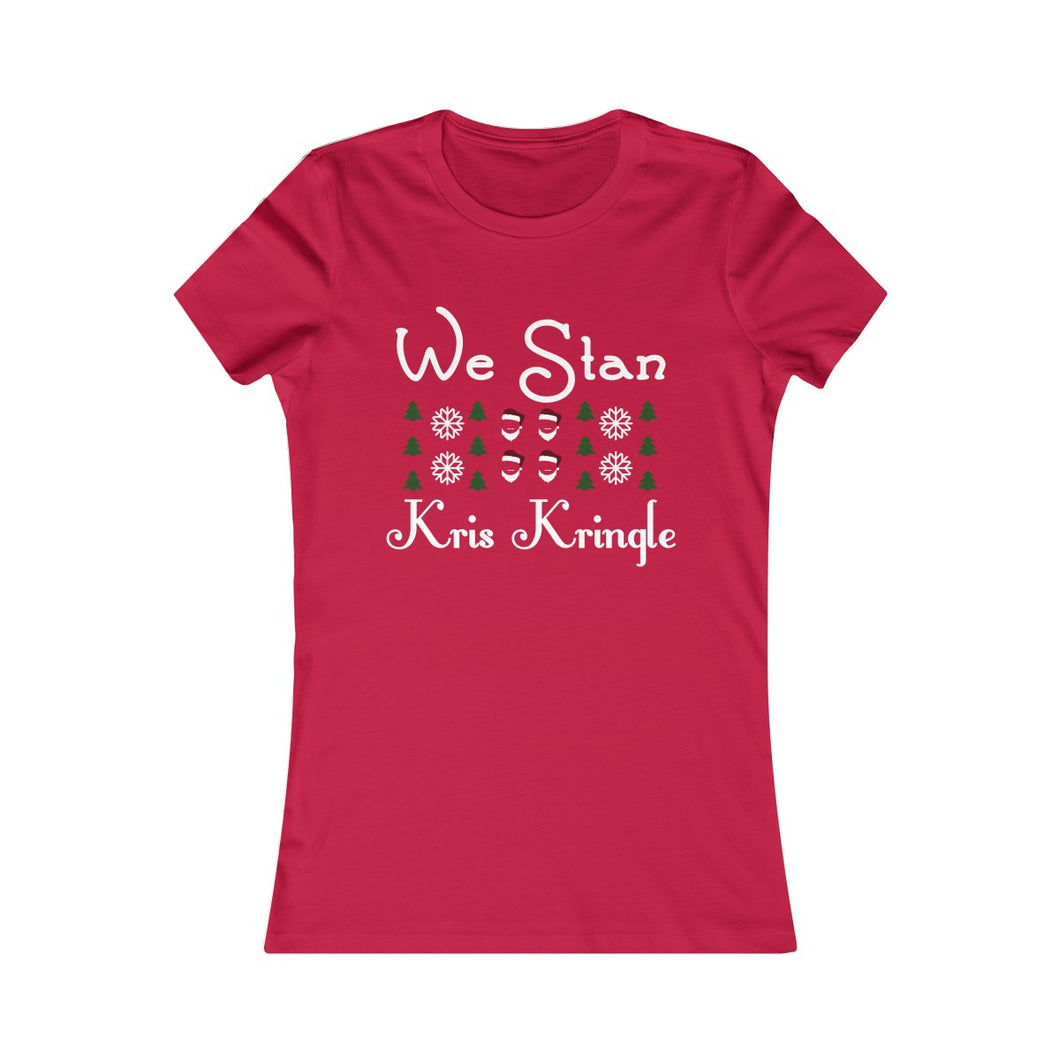 Stan Kris Kringle: Women's Fit Tee