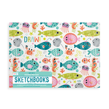 Load image into Gallery viewer, Sketchbooks Set of 2: Friendly Fish