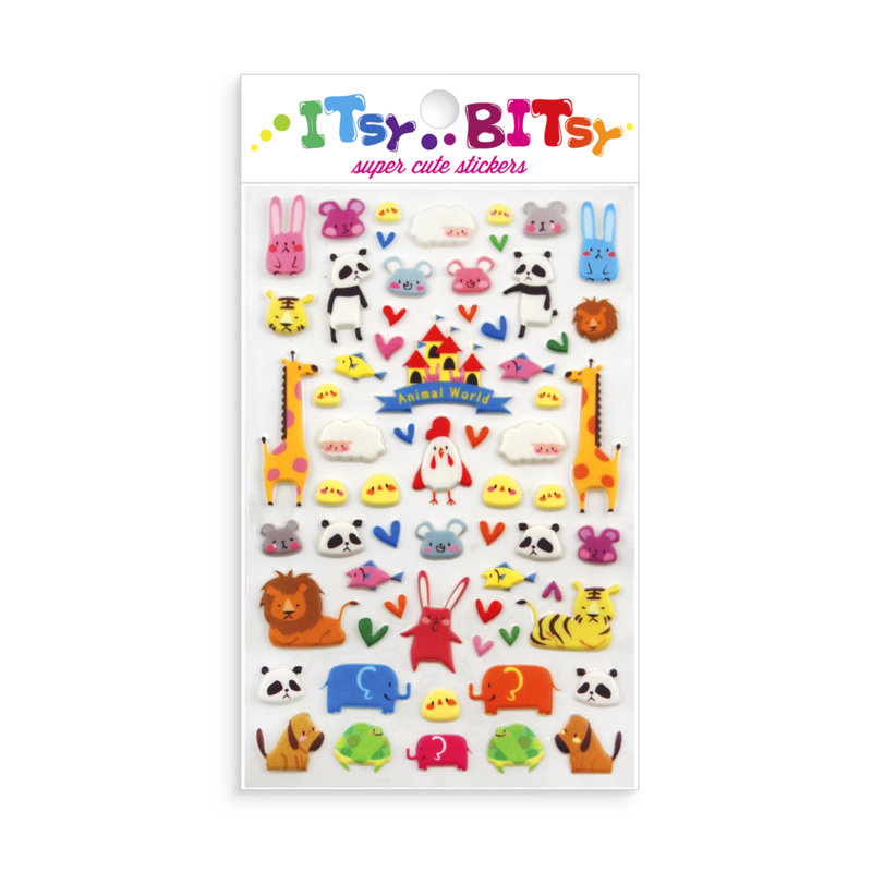 Itsy Bitsy SUPER Cute Stickers: Multiple Options