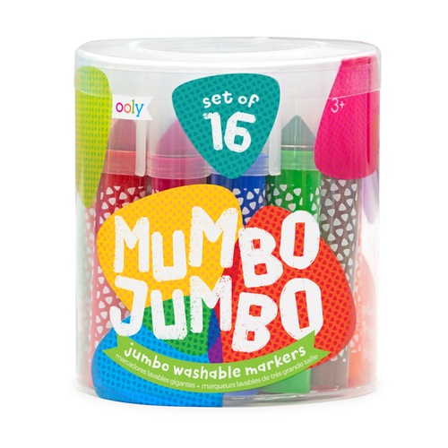 Mumbo Jumbo Markers: Set of 16