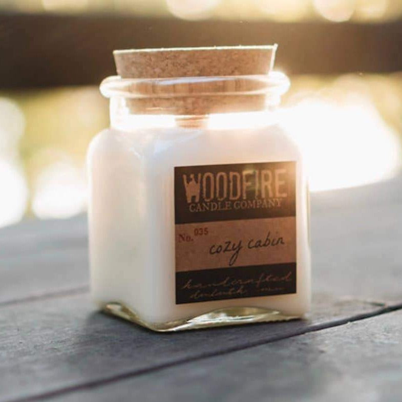 Woodfire Soy Candles: Multiple Scents