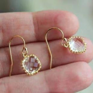 Dainty Earrings: Multiple Colors