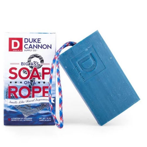 Men's Big Ass Bar of Soap on a Rope: 2 Scents