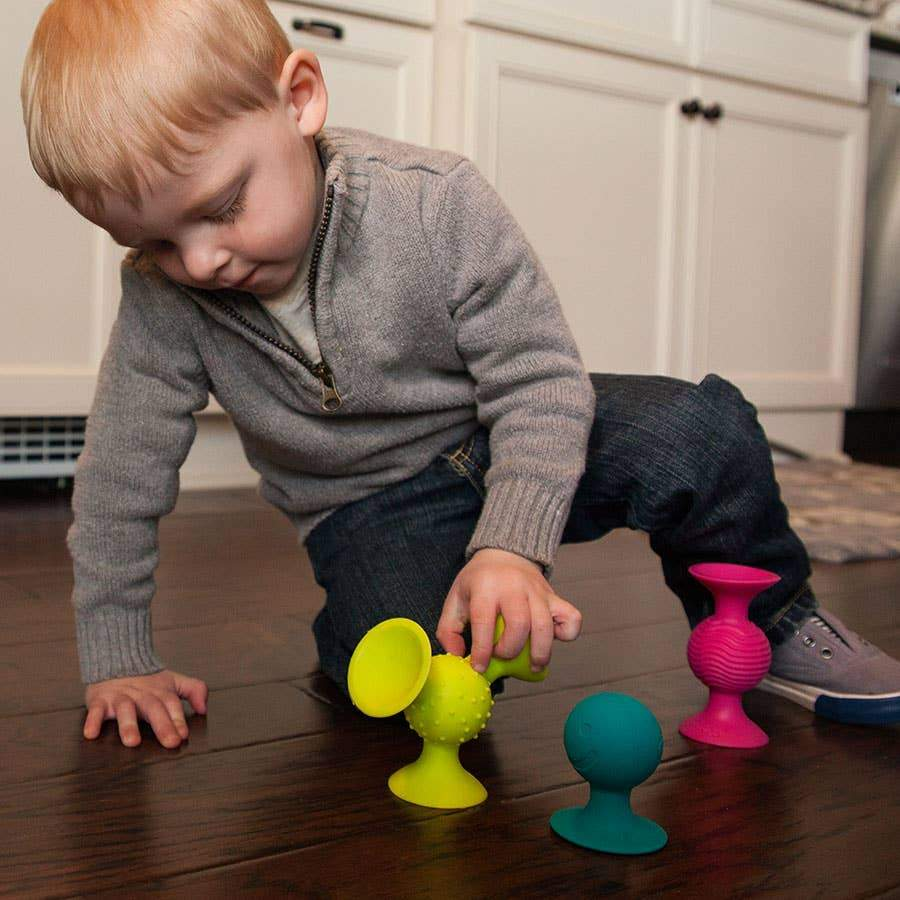 Pip Squigz- Set of 3: Rattle Sensory Toy
