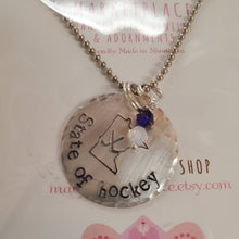 Load image into Gallery viewer, State of Hockey MN Necklace