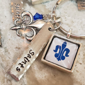 **GRAD GIFT IDEA** Saints Keychain