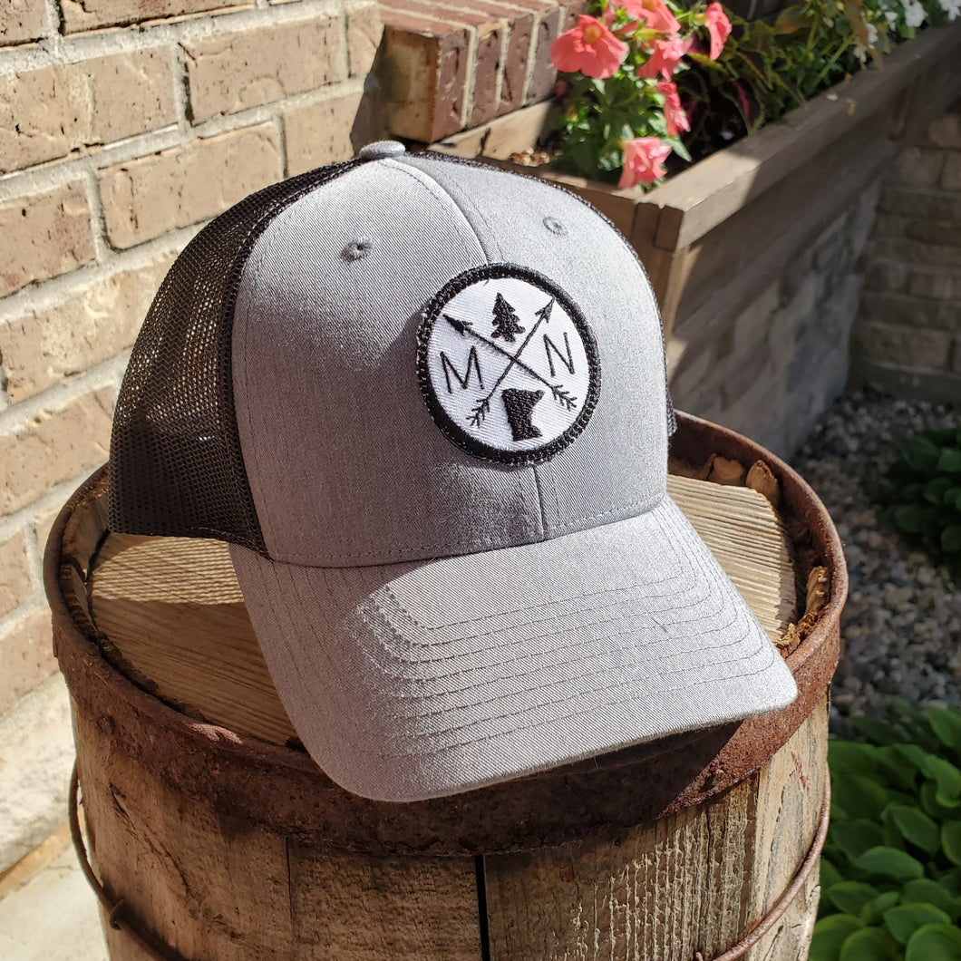 Round MN Patch Hat