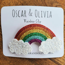 Load image into Gallery viewer, Rainbow Hair Clips