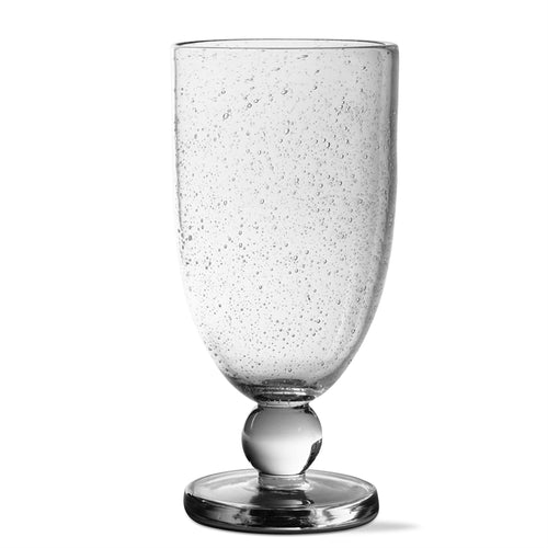 Tall Goblet: Bubble Glass