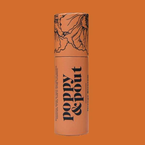 Poppy & Pout Lip Balm- Flower Powered Lip Care