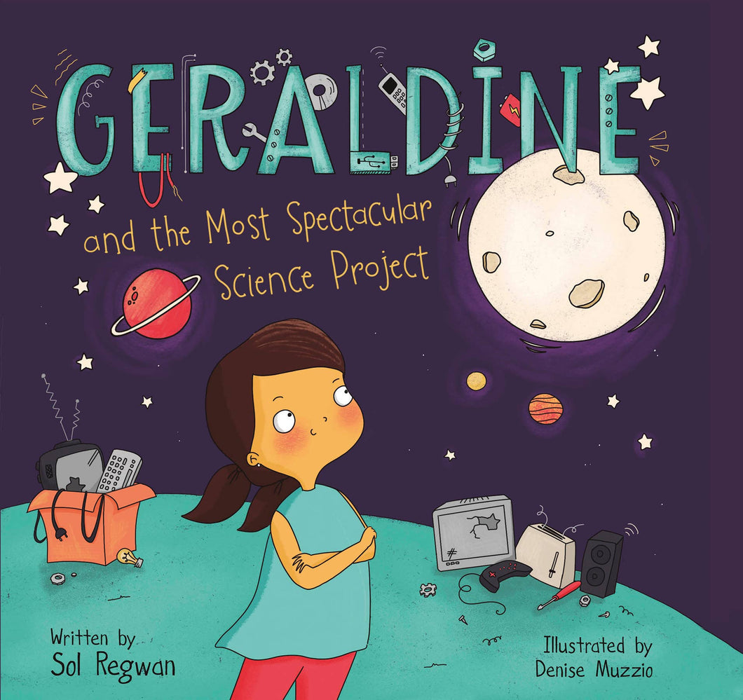Geraldine and the Most Spectacular Science Project Book