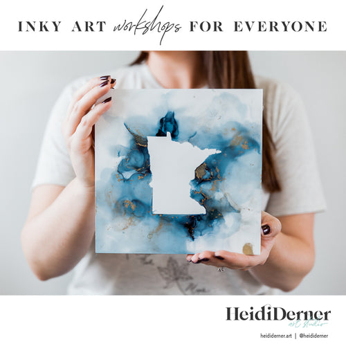 MN Inky Art Painting: Feb. 21
