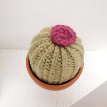 Load image into Gallery viewer, Handmade Knit Cactus