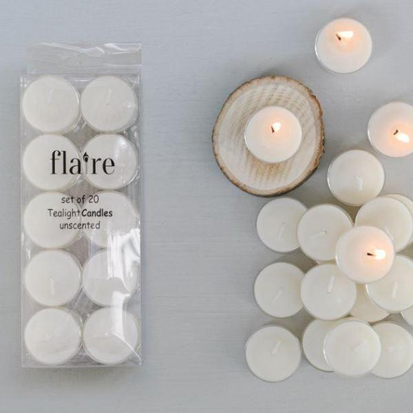 Tealight Candles: Set of 20