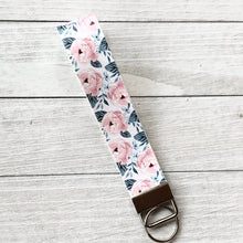 Load image into Gallery viewer, Key Fob Wristlets: Vegan Leather