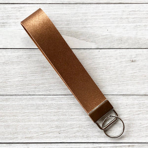 Key Fob Wristlets: Vegan Leather