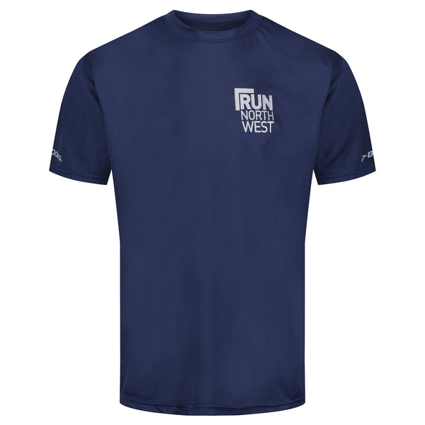 Run North West Brooks T-Shirt - Navy