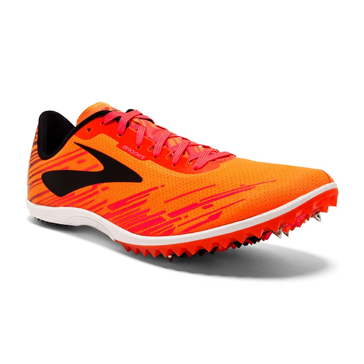 Brooks Mens Mach 18 - Orange/Pink/Black