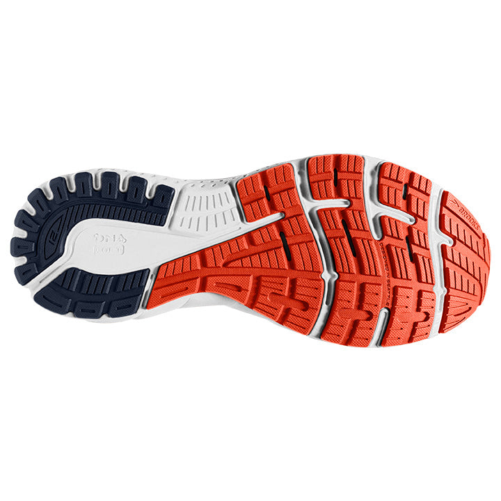 Brooks M Adrenaline GTS 21 | Wide - Navy/Red Clay/Gray