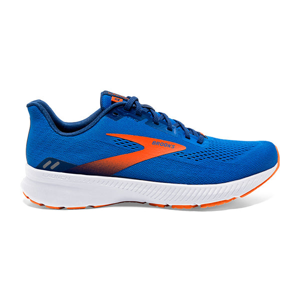 Brooks M Launch 8 - Blue/Orange/White