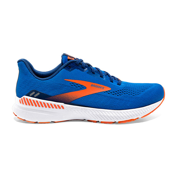 Brooks M Launch GTS 8 (Ravenna) - Blue/Orange/White