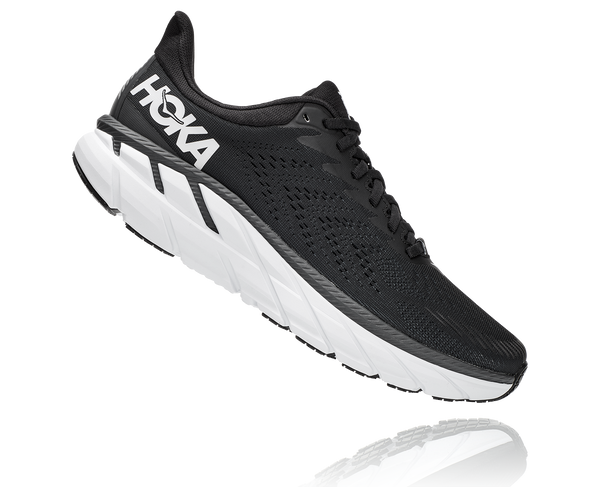 Hoka M Clifton 7 - Black/White