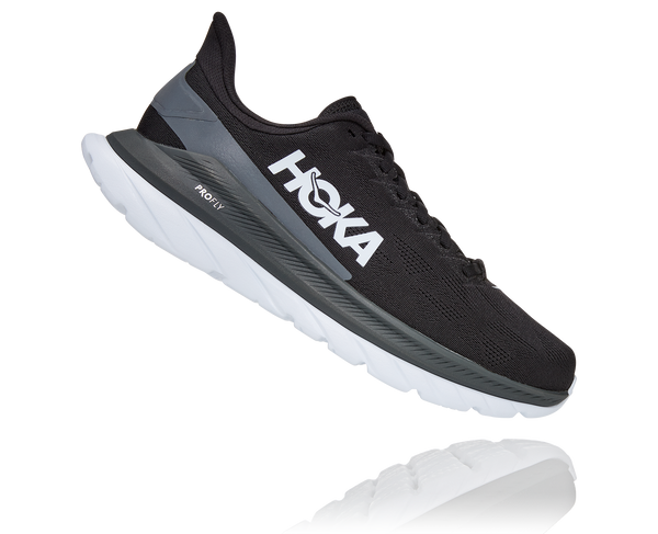 Hoka M Mach 4 - Black/Dark Shadow