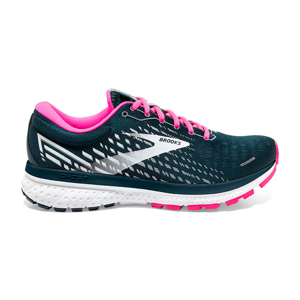 Brooks W Ghost 13 - Reflective Pond/Pink/Ice