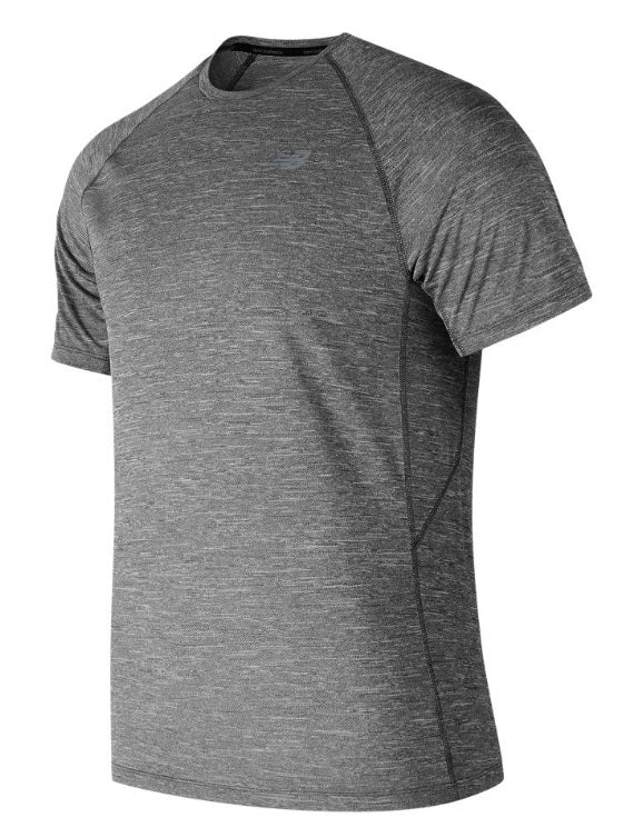 New Balance M Tenacity T-Shirt - Grey
