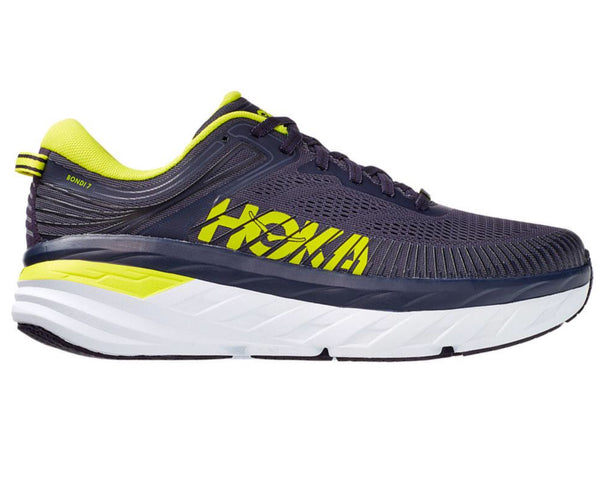 Hoka M Bondi 7 - Odyssey Grey/Deep Well
