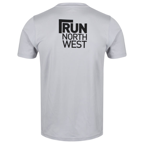 Run North West T-Shirt - Heather Grey