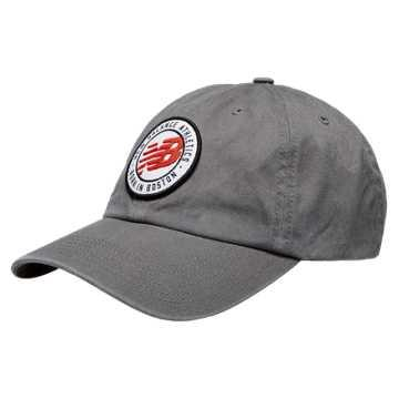 New Balance 6 Panel curved Brim - Grey