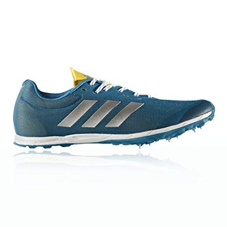 Adidas Mens XCS Cross Country Spikes - Petrol/White